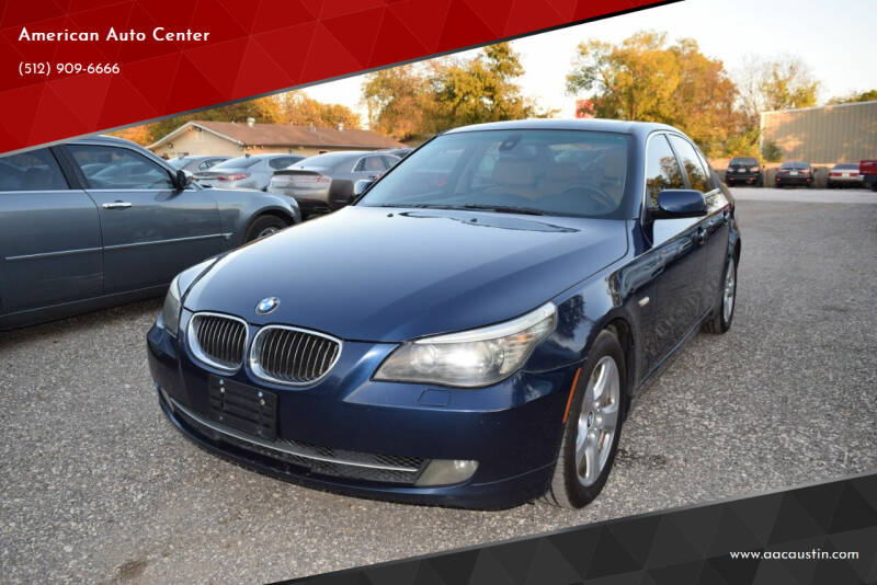 2008 BMW 5 Series for sale at American Auto Center in Austin TX