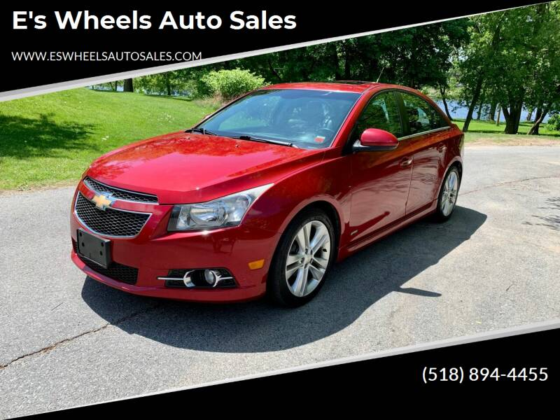 2011 Chevrolet Cruze for sale at E's Wheels Auto Sales in Hudson Falls NY