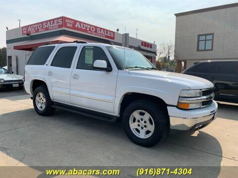 2004 Chevrolet Tahoe for sale at About New Auto Sales in Lincoln CA