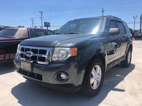 2009 Ford Escape for sale at Wolff Auto Sales in Clarksville TN