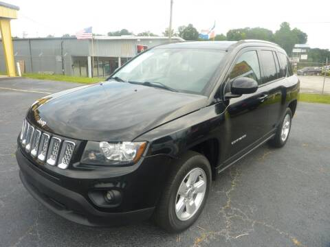 2016 Jeep Compass for sale at Roswell Auto Imports in Austell GA