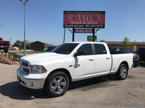 2019 RAM Ram Pickup 1500 Classic for sale at RAUL'S TRUCK & AUTO SALES, INC in Oklahoma City OK
