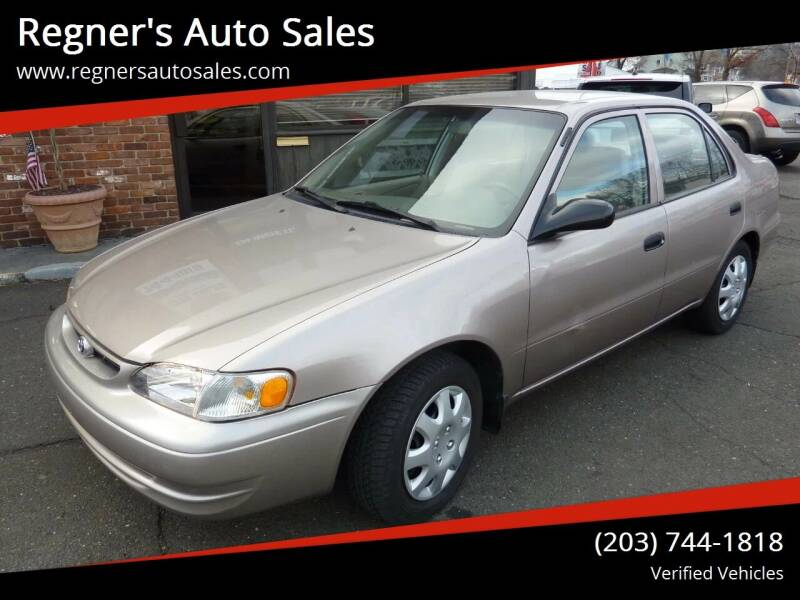 1999 Toyota Corolla for sale at Regner's Auto Sales in Danbury CT
