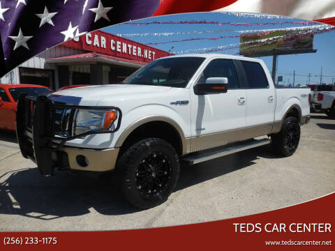 2012 Ford F-150 for sale at TEDS CAR CENTER in Athens AL