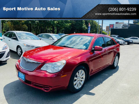 2010 Chrysler Sebring for sale at Sport Motive Auto Sales in Seattle WA