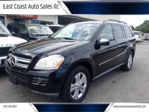 2009 Mercedes-Benz GL-Class for sale at East Coast Auto Sales llc in Virginia Beach VA