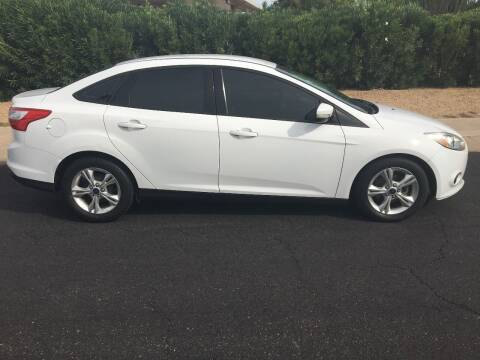 2013 Ford Focus for sale at FAMILY AUTO SALES in Sun City AZ