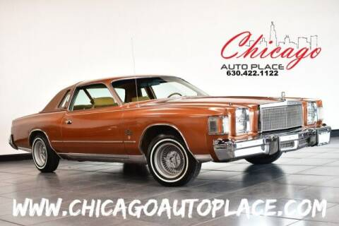 1978 Chrysler Cordoba for sale at Chicago Auto Place in Bensenville IL