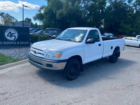 2006 Toyota Tundra for sale at Station 45 Auto Sales Inc in Allendale MI