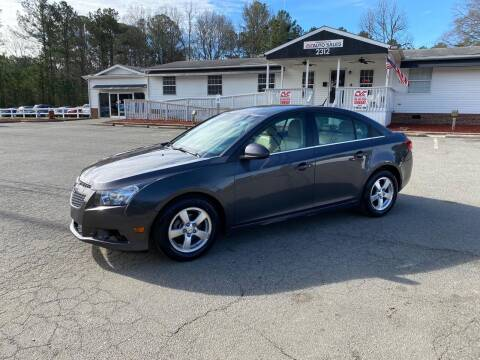 2011 Chevrolet Cruze for sale at CVC AUTO SALES in Durham NC