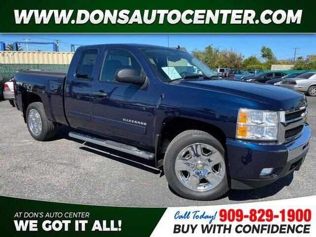 2011 Chevrolet Silverado 1500 for sale at Dons Auto Center in Fontana CA