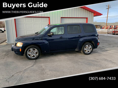 2010 Chevrolet HHR for sale at Buyers Guide in Buffalo WY