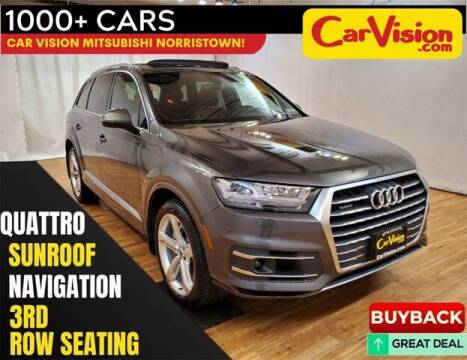 2019 Audi Q7 for sale at Car Vision Buying Center in Norristown PA