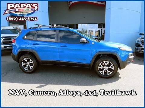 2017 Jeep Cherokee for sale at Papas Chrysler Dodge Jeep Ram in New Britain CT
