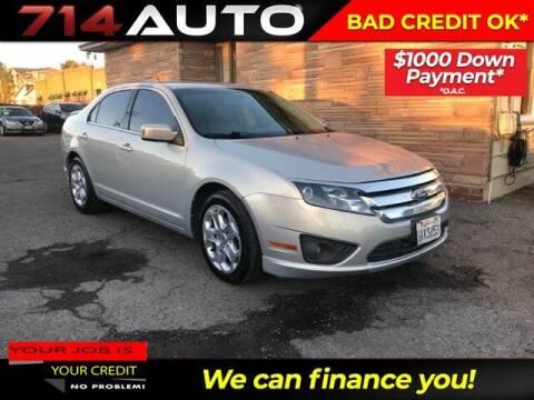 2010 Ford Fusion for sale at 714 Auto in Orange CA