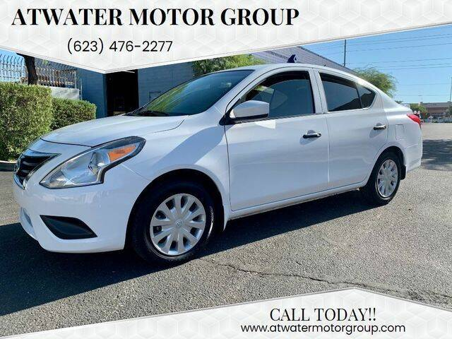 2017 Nissan Versa for sale at Atwater Motor Group in Phoenix AZ