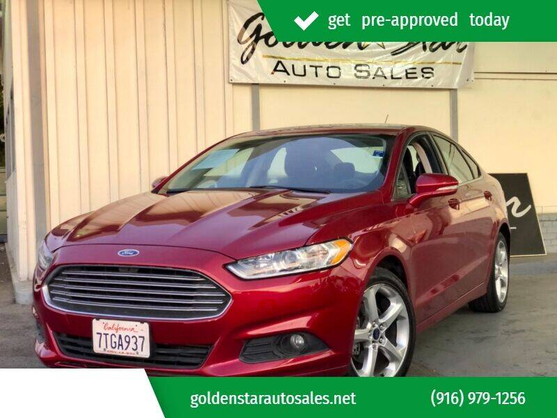 2016 Ford Fusion for sale at Golden Star Auto Sales in Sacramento CA