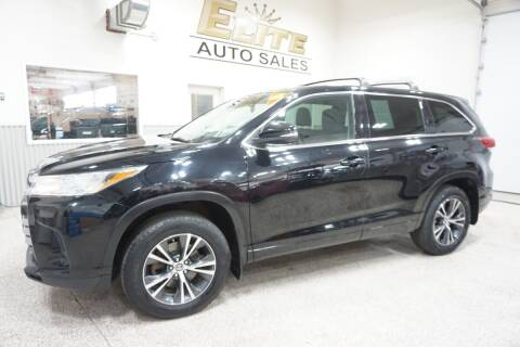 2017 Toyota Highlander for sale at Elite Auto Sales in Ammon ID