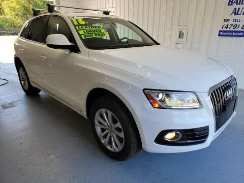 2016 Audi Q5 for sale at Bailey Family Auto Sales in Lincoln AR