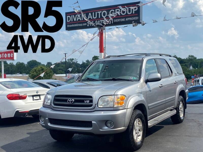 2004 Toyota Sequoia for sale at Divan Auto Group in Feasterville Trevose PA