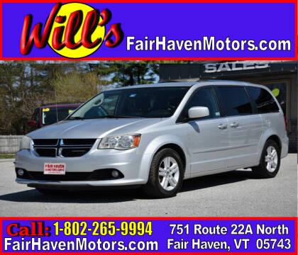 2011 Dodge Grand Caravan for sale at Will's Fair Haven Motors in Fair Haven VT