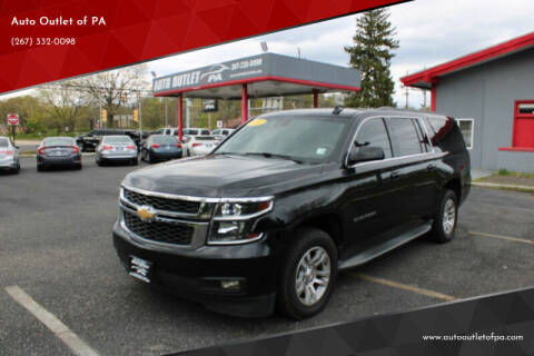 2015 Chevrolet Suburban for sale at Deals N Wheels 306 in Burlington NJ