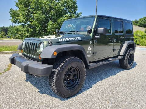 2008 Jeep Wrangler Unlimited for sale at Premium Auto Outlet Inc in Sewell NJ