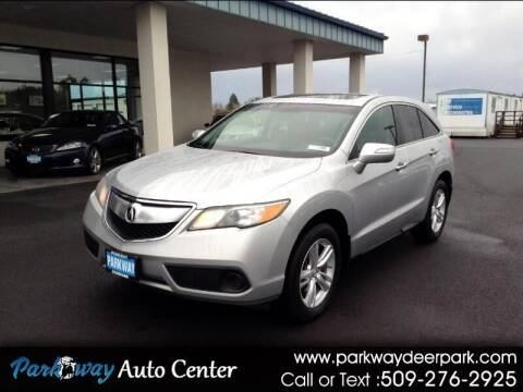 2014 Acura RDX for sale at PARKWAY AUTO CENTER AND RV in Deer Park WA