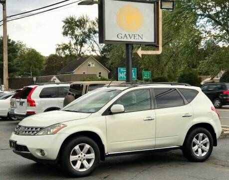 2007 Nissan Murano for sale at Gaven Auto Group in Kenvil NJ