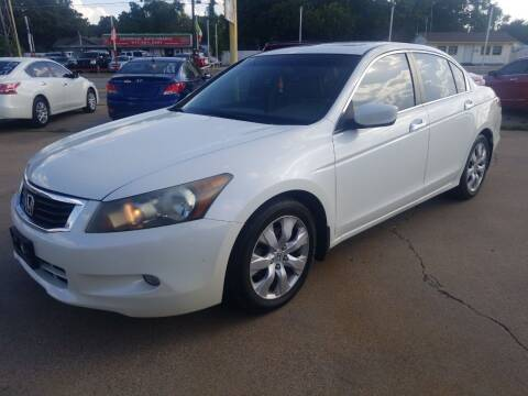 2008 Honda Accord for sale at Nile Auto in Fort Worth TX