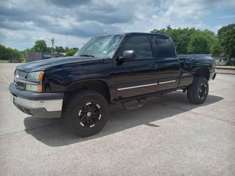 2003 Chevrolet Silverado 1500 for sale at Affordable Auto Spot in Houston TX