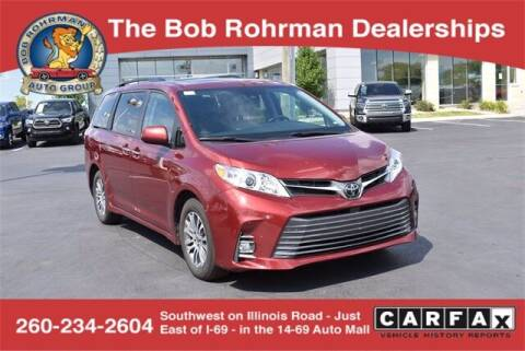 2020 Toyota Sienna for sale at BOB ROHRMAN FORT WAYNE TOYOTA in Fort Wayne IN