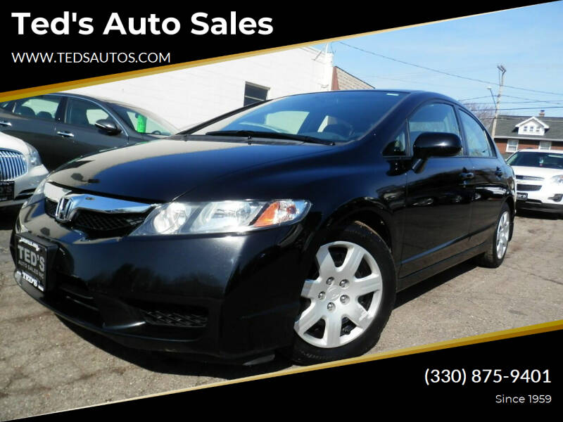 2009 Honda Civic for sale at Ted's Auto Sales in Louisville OH