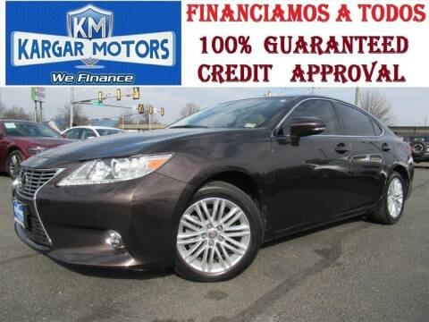 2015 Lexus ES 350 for sale at Kargar Motors of Manassas in Manassas VA