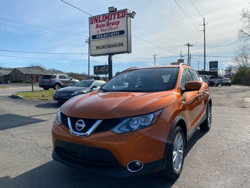 2017 Nissan Rogue Sport for sale at Unlimited Auto Group in West Chester OH