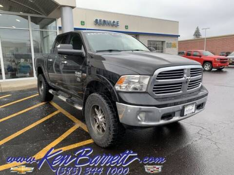 2018 RAM Ram Pickup 1500 for sale at KEN BARRETT CHEVROLET CADILLAC in Batavia NY