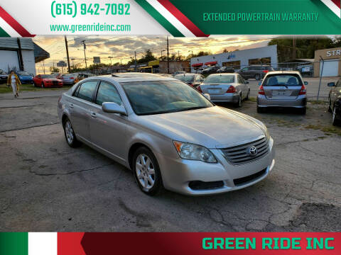 2008 Toyota Avalon for sale at Green Ride Inc in Nashville TN