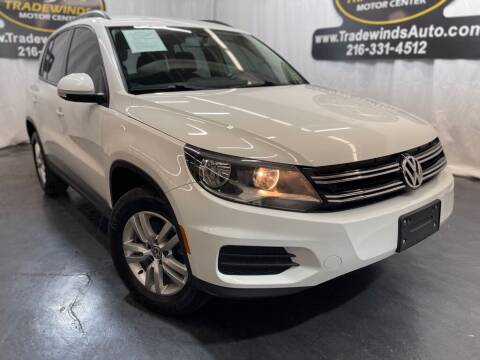 2015 Volkswagen Tiguan for sale at TRADEWINDS MOTOR CENTER LLC in Cleveland OH