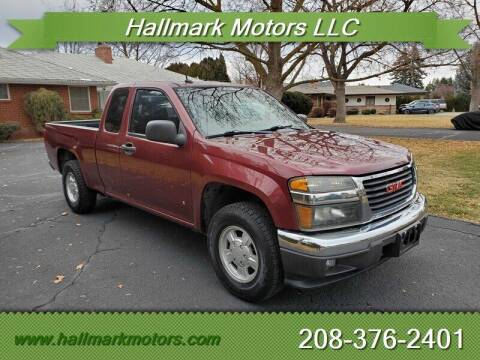 2008 GMC Canyon for sale at HALLMARK MOTORS LLC in Boise ID