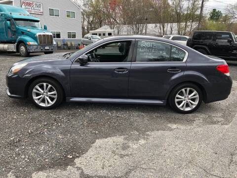 2013 Subaru Legacy for sale at Perrys Auto Sales & SVC in Northbridge MA