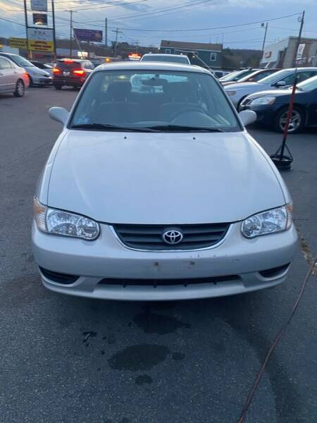 2001 Toyota Corolla for sale at Budget Auto Deal and More Services Inc in Worcester MA