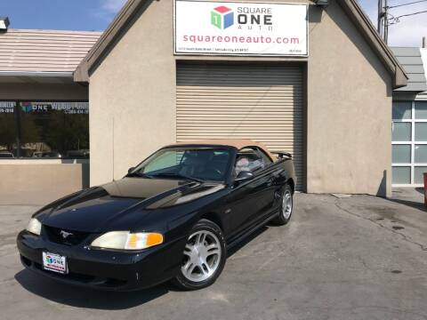 1997 Ford Mustang for sale at SQUARE ONE AUTO LLC in Murray UT