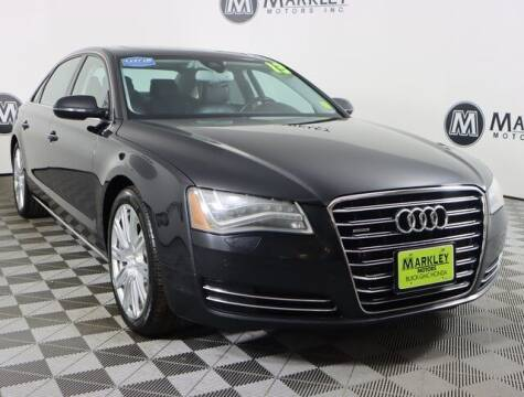 2013 Audi A8 L for sale at Markley Motors in Fort Collins CO