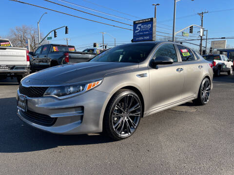 2017 Kia Optima for sale at 5 Star Auto Sales in Modesto CA