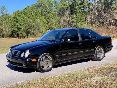2002 Mercedes-Benz E-Class for sale at Terra Motors LLC in Jacksonville FL