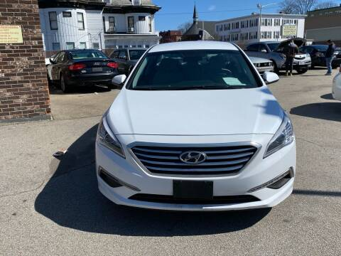 2015 Hyundai Sonata for sale at MAIN STREET MOTORS in Worcester MA