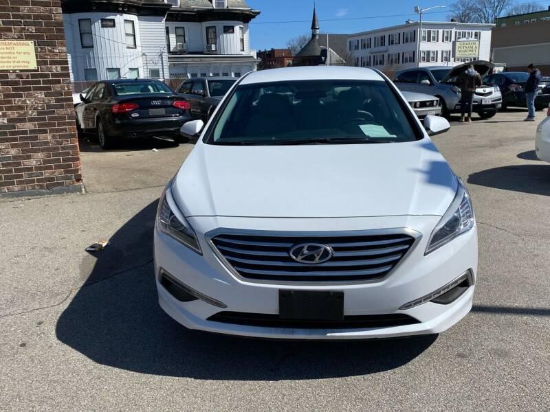 2015 Hyundai Sonata for sale at MAIN STREET MOTORS in Worcester MA
