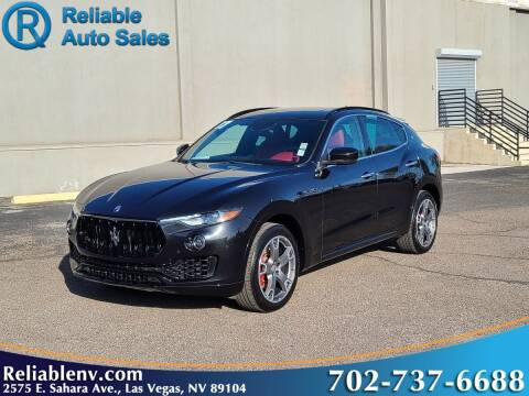 2017 Maserati Levante for sale at Reliable Auto Sales in Las Vegas NV