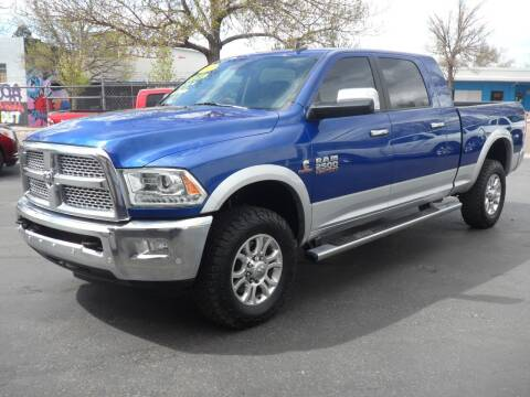 2016 RAM Ram Pickup 2500 for sale at T & S Auto Brokers in Colorado Springs CO