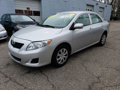 2010 Toyota Corolla for sale at Devaney Auto Sales & Service in East Providence RI